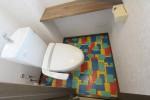 アメリカンデザインのトイレ