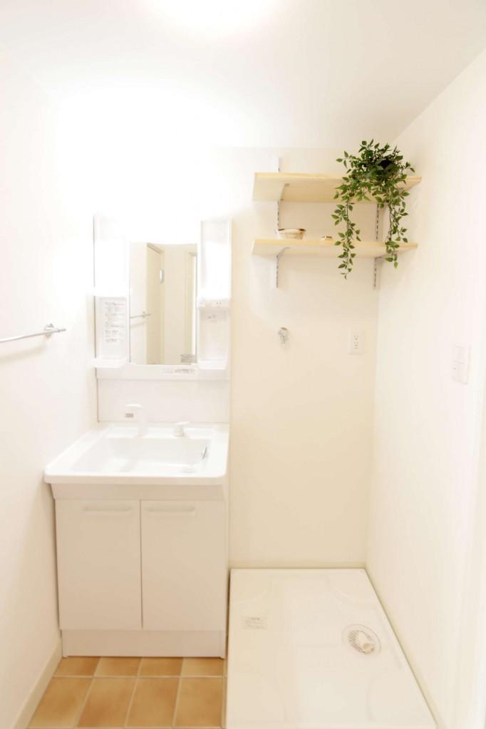 洗面・室内洗濯機置き場
