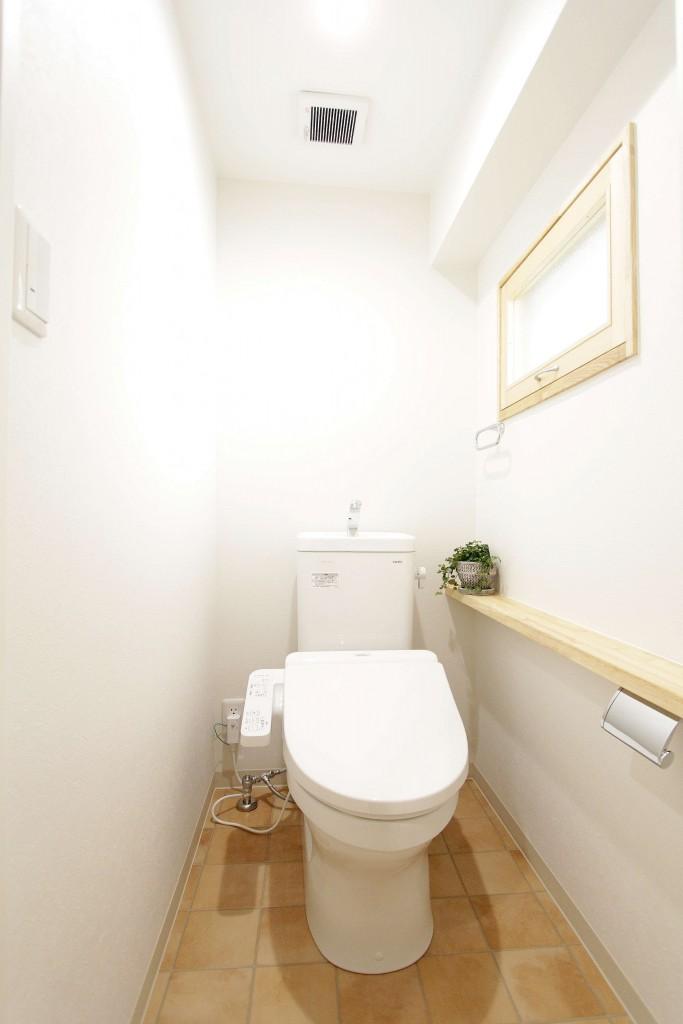 明るくてキレイなトイレ