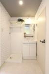 室内洗濯機置き場・洗面台