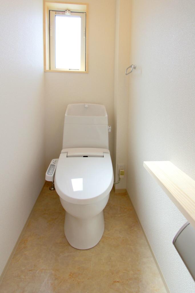3Fの清潔なトイレ