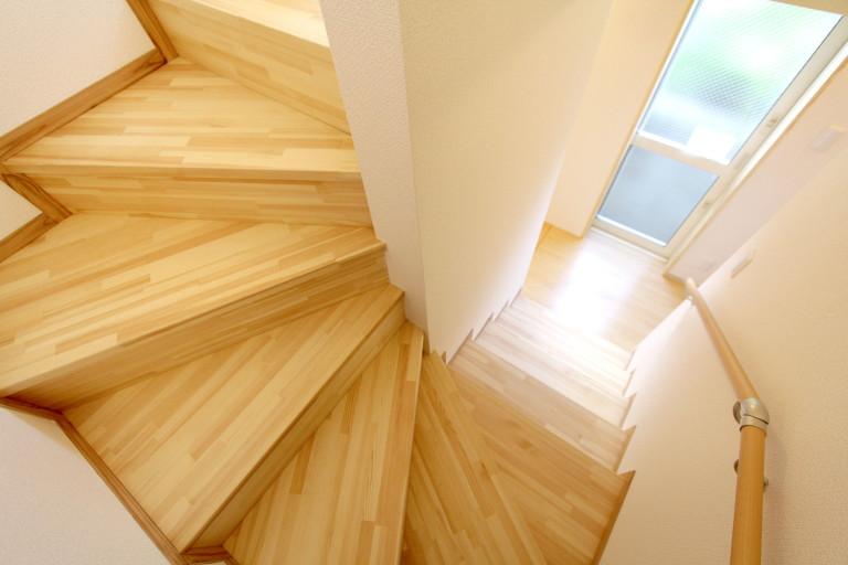 温もりのある階段